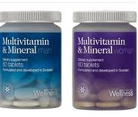 Комплекс мультивитамины и минералы от Орифлейм для мужчин и женщин