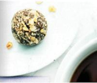 Ванильно-ореховые трюфели