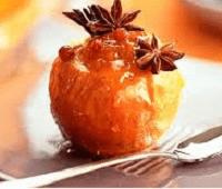 Полезный и вкусный десерт - яблоки в карамели
