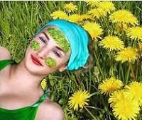 Применение одуванчиков в косметологии: для кожи лица и волос