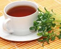 омела белая чай