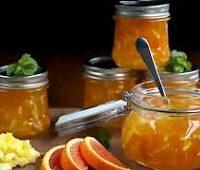 варенье ревень с апельсином