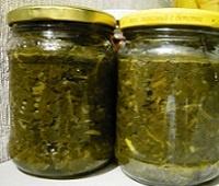 щавель консервированный соленый