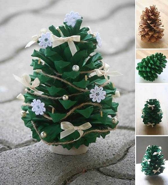 новогодняя елка своими руками1
