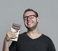 горький шоколад для му