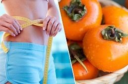 хурма при похудении