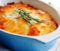 Рецепты приготовления запеченного картофеля в духовке с сыром - Гратен и Дофине
