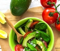 салаты с авокадо вкусные рецепты