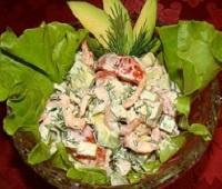 салат с авокадо рецепт