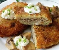 Пошаговый рецепт приготовления вкусных колдунов (драников) из картофеля с фаршем
