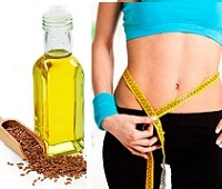 Льняное масло для похудения: польза, как действует и как принимать