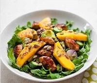 Пошаговые рецепты приготовления салатов из манго