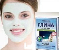 Лучшие рецепты масок для лица из белой глины