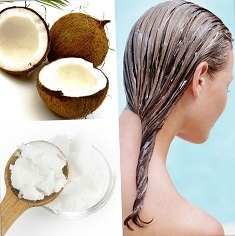 Как нанести кокосовое масло на волосы