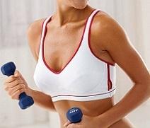 Как сохранить красивую форму груди
