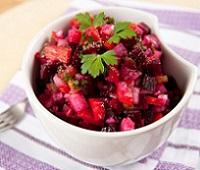 Винегрет  с квашеной капустой - самые вкусные рецепты