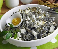Салаты с морской капустой - 10 самых вкусных рецептов