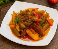 Азу по-татарски с солеными огурцами - самые вкусные рецепты
