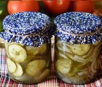 Салат из огурцов на зиму - самые вкусные рецепты