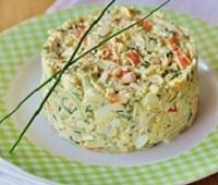 Крабовый салат с огурцом - 6 самых вкусных рецептов