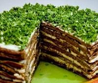 Печеночный торт из говяжьей печени - 8 самых вкусных рецептов