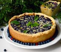 Пирог с черникой - 8 самых простых и вкусных рецептов