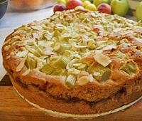 Пирог с ревенем - 11 самых вкусных рецептов