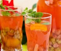 Компот из ревеня - 9 самых вкусных рецептов приготовления