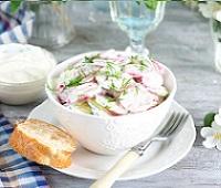 Салаты с редиской - 13 самых простых и вкусных рецептов