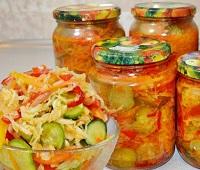 Салаты с капустой на зиму - 10 самых вкусных рецептов