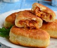 Жареные пирожки с капустой на сковороде - 8 самых простых и вкусных рецептов