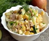 Салат с маринованными шампиньонами - 8 самых простых и вкусных рецептов