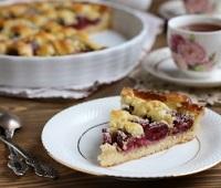 Пироги с черешней - 10 самых простых и вкусных рецептов приготовления