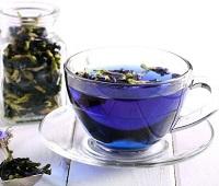 Синий чай анчан из Тайланда: что это такое, состав, как заваривать, как пить, полезные свойства