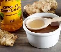 Сироп топинамбура: состав, калорийность, польза, как принимать, как приготовить и вред