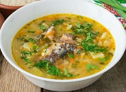 Суп из сардины консервы