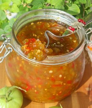 варенье-соус из зеленых томатов