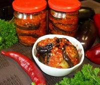 салат тещин язык из баклажанов