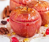 Запеченные яблоки в микроволновке - 10 самых простых и очень вкусных рецептов
